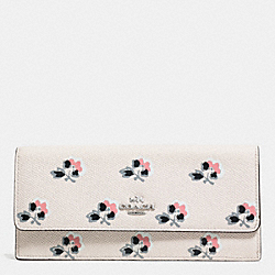 COACH SOFT WALLET IN PRINTED LEATHER - SVDRL - F52967