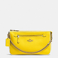 NOLITA WRISTLET 24 IN COLORBLOCK LEATHER - LIDZZ - COACH F53281