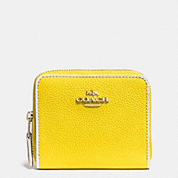 COACH ZIP AROUND COIN CASE IN COLORBLOCK LEATHER - LIDZZ - F53302