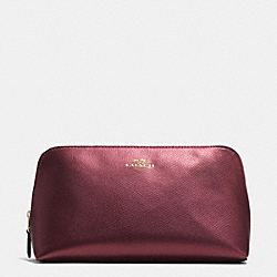 COSMETIC CASE 22 IN CROSSGRAIN LEATHER - IME42 - COACH F53387