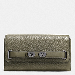 BLAKE WALLET IN BUBBLE LEATHER - QBB75 - COACH F53425
