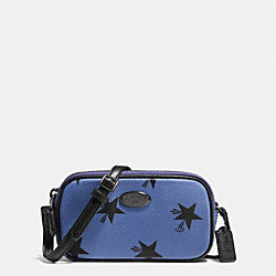 COACH CROSSBODY POUCH IN STAR CANYON PRINT COATED CANVAS - QBEB6 - F53428