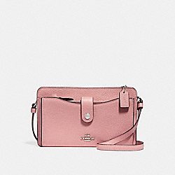 NOA POP-UP MESSENGER - PEONY/SILVER - COACH F53529