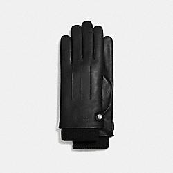 3-IN-1 LEATHER GLOVE - BLACK - COACH F54183