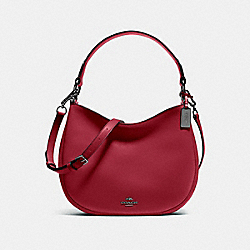 MAE CROSSBODY - f54446 - Cherry/Dark Gunmetal