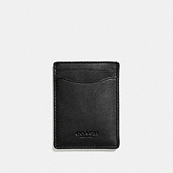 3-IN-1 CARD CASE - BLACK - COACH F54466