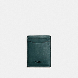 3-IN-1 CARD CASE - FOREST - COACH F54466