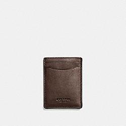 3-IN-1 CARD CASE - MAHOGANY - COACH F54466
