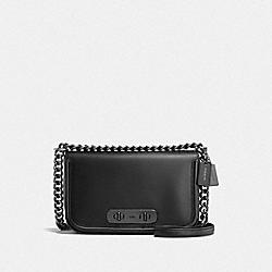 COACH SWAGGER SHOULDER BAG - DK/BLACK - COACH F54640