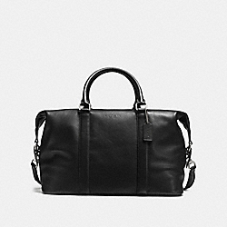 COACH VOYAGER BAG IN SPORT CALF LEATHER - BLACK - F54765