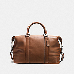 VOYAGER BAG IN SPORT CALF LEATHER - DARK SADDLE - COACH F54765