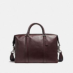 COACH VOYAGER BAG - NICKEL/OXBLOOD - F54765