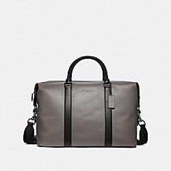 VOYAGER BAG - HEATHER GREY/BLACK ANTIQUE NICKEL - COACH F54765