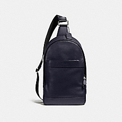 CHARLES PACK IN SMOOTH LEATHER - f54770 - MIDNIGHT