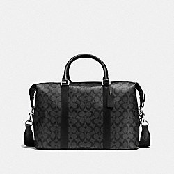 VOYAGER BAG IN SIGNATURE - CHARCOAL/BLACK - COACH F54776