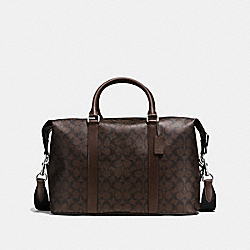 VOYAGER BAG IN SIGNATURE - f54776 - MAHOGANY/BROWN