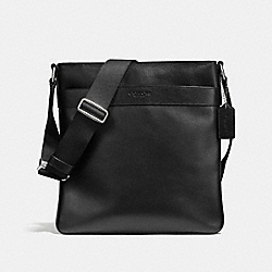 COACH CHARLES CROSSBODY IN CALF LEATHER - BLACK - F54780