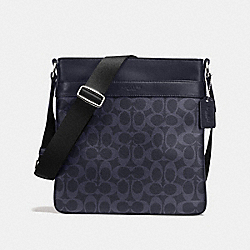 CHARLES CROSSBODY IN SIGNATURE - f54781 - MIDNIGHT