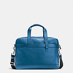 HAMILTON BAG IN SMOOTH LEATHER - DENIM - COACH F54801