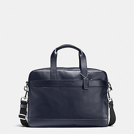 COACH HAMILTON BAG IN SMOOTH LEATHER - MIDNIGHT - f54801