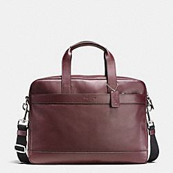 COACH HAMILTON BAG IN SMOOTH LEATHER - OXBLOOD - F54801