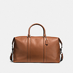 VOYAGER BAG 52 IN SPORT CALF LEATHER - f54802 - DARK SADDLE