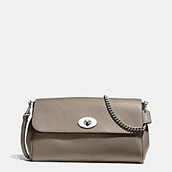 RUBY CROSSBODY IN CROSSGRAIN LEATHER - f54849 - SILVER/FOG