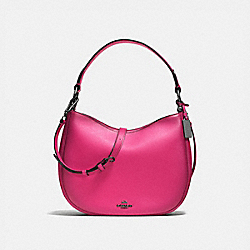 MAE CROSSBODY - CERISE/DARK GUNMETAL - COACH F54868