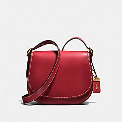 SADDLE 23 - OL/WASHED RED - COACH F55036