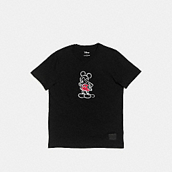 MICKEY T-SHIRT - BLACK - COACH F55146