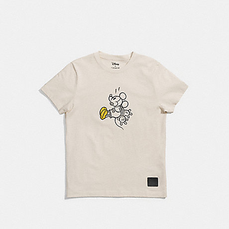 COACH f55146 MICKEY T-SHIRT CREAM