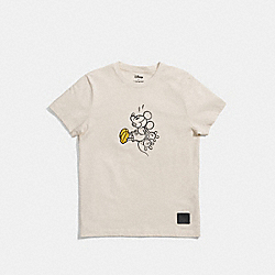 COACH MICKEY T-SHIRT - CREAM - F55146