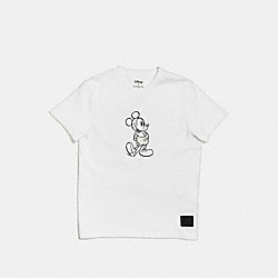 COACH MICKEY T-SHIRT - WHITE - F55146