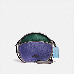 CANTEEN CROSSBODY IN COLORBLOCK - MULTI/BLACK ANTIQUE NICKEL - COACH F55593