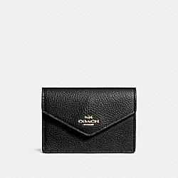 ENVELOPE CARD CASE - LI/BLACK - COACH F55749
