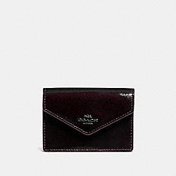 ENVELOPE CARD CASE - DK/OXBLOOD - COACH F55758
