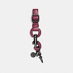 ROCKET SHIP JUMBO DOGLEASH - BURGUNDY - COACH F55788
