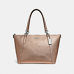 AVA TOTE - ROSE GOLD/SILVER - COACH F56197