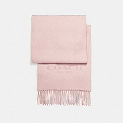 DOUBLE FACED MUFFLER - BLUSH - COACH F56209