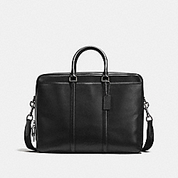 METROPOLITAN COMMUTER - BLACK/BLACK ANTIQUE NICKEL - COACH F56658