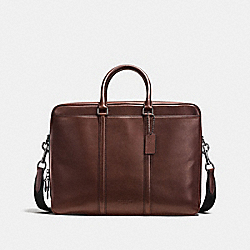 METROPOLITAN COMMUTER - MAHOGANY/BLACK ANTIQUE NICKEL - COACH F56658