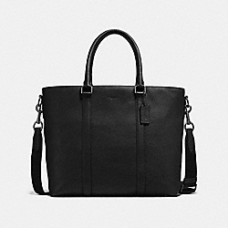 METROPOLITAN TOTE - BLACK/BLACK ANTIQUE NICKEL - COACH F56660