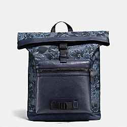 TERRAIN EXPLORER PACK IN FLORAL HAWAIIAN PRINT - f56663 - BLUE HAWAIIAN FLORAL