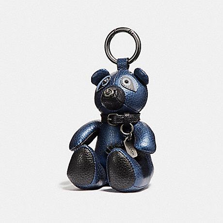 COACH ACE BEAR BAG CHARM - BKECK - f56743