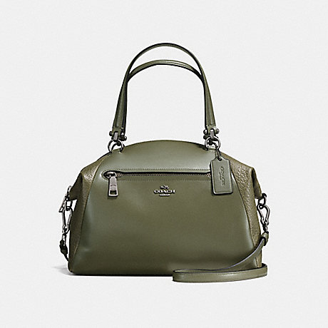COACH PRAIRIE SATCHEL - SURPLUS/DARK GUNMETAL - f56818