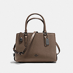 BROOKLYN CARRYALL 28 - FATIGUE/DARK GUNMETAL - COACH F56839