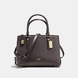 BROOKLYN CARRYALL 28 - CHESTNUT/STONE/LIGHT GOLD - COACH F56839