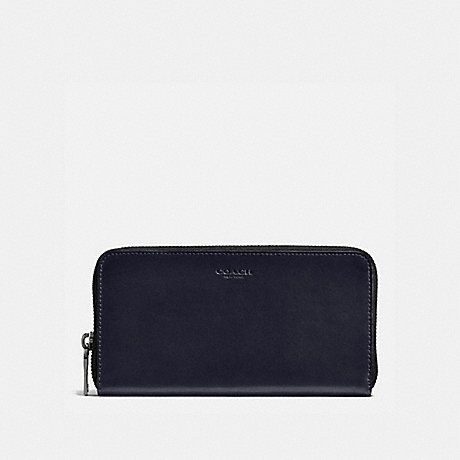 COACH ACCORDION WALLET - MIDNIGHT - f57098
