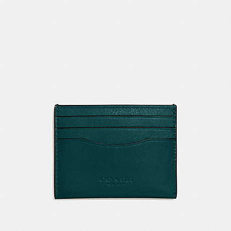COACH CARD CASE - FOREST - f57101