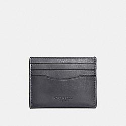 CARD CASE - GRAPHITE - COACH F57101